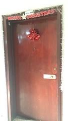 Voordeur van Silvy's appartement (MTTAdventures) Tags: dance workshop bollywood deur kerst