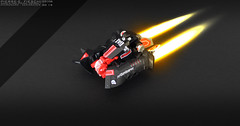XENORACER (Pierre E Fieschi) Tags: art lego pierre micro spaceship concept racer microspace garc fieschi xenoracer