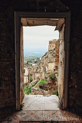 Craco (micahmoreland) Tags: travel italy cliff tower abandoned home church window fog mystery architecture landscape dead death countryside town dangerous earthquake italian ruins mood moody exterior flood interior small ghost hill gothic ruin foggy rocky atmosphere medieval adventure abandon urbanexploration landslide villa mysterious ghosttown haunting barren remains atmospheric hilltop ruined wasteland urbex craco italianghosttown