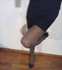 Grey Pantyhose (Julia Cool) Tags: stockings cool highheels julia tights tgirl transgender sissy transvestite heels hosiery amateur pantyhose trap nylon calze strumpfhosen collant transgenderpantyhose juliacool