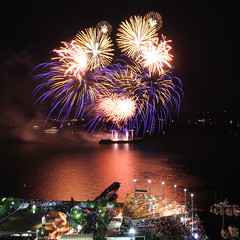 Canada Day Fireworks 2016, Harbourfront, Toronto (Karim Rezk) Tags: canada toronto fireworks canadaday harbourfront