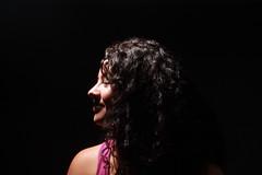 (biadeli) Tags: portrait retrato lights photoshoot girl mexican curlyhair nose pink dark