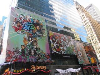 Suicide Squad Billboard Poster ADs 2488