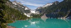 Blanca Lake (keithc1234) Tags: columbiapeak mountains landscape alpinelake glacier montecristopeak kyespeak blancalake