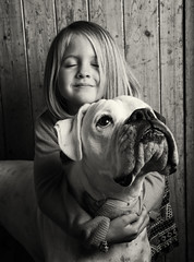 Cheeks! (Simon Clarkson Photography) Tags: family dog cute love animal canon children fun happy friend child play photoshoot sweet boxer