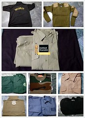 Security Uniform Wholesale suppliers (Darbar Trailers Security And Police uniforms) Tags: uniform work wear shirt garment fashion industry security guard uniforms linen garments police