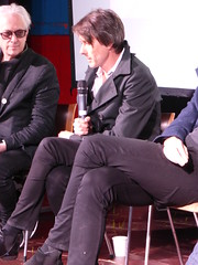 Suede - Night Thoughts film screening and Q&A (Scorpions and Centaurs) Tags: show england musician sexy brighton band entertainment talent rockmusic singer vocalist actor bassist british qa heroes interview suede idols rockandroll exciting moderator thegreatescape brettanderson filmscreening alexwalton matosman meetandgreet simonprice fanexperience nightthoughts raindancefestival insatiableones nicestguysever