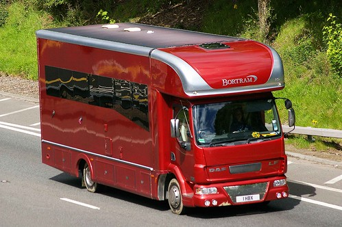 DAF LF  BORTRAM HD Horsebox
