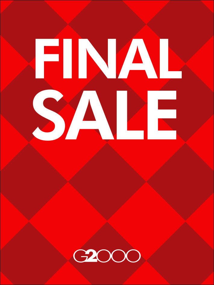 G2000 Final Sale