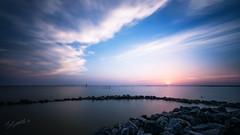 WhaleHead sunset (gaprunella) Tags: 1424mm alittlephotography carrituck d800 m2c northcarolina nikon outerbanks water whaleheadpark sunset