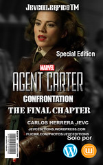 Agent Carter The Final Chapter (CarlosHerreraJevc) Tags: covercustoms wordpress flickr fanartsjevc jevcupeditions photoshop wattpad 2016