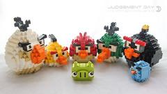 Piggy's Judgement Day (dvdliu) Tags: lego moc basic brick angry bird piggy