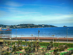 Paignton2016 (RightCharlie100) Tags: pier hdr paington holidayssonydsch400