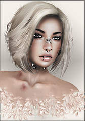 Stealthic-Vapor ([] Nieor Svir []) Tags: woman meshbodylara style lotd poetic maitreya fashion hair blogging sl secondlife logo meshhead alterego stealthic hairfair16