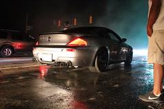 IMG_1703 (JairofCrewblocCreative) Tags: columbus ohio night silver tire bmw burnout beamer busch