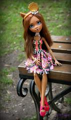 image (Cleo6666) Tags: mattel monsterhigh monster high clawdeen clawdeen17 ooak custom repaint doll