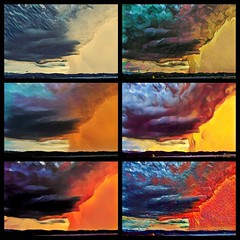 Fun with Prisma app! (tgorsak) Tags: experiment colors vivid frontroyal thunderstorm prisma