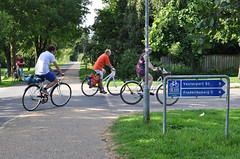 Fahrradwegweisung auf dem Supercykelstier C 99 (adfc.sachsen) Tags: kopenhagen fahrradwegweisung wegweisung wegweiser