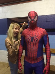 Spider-Man (Elysia in Wonderland) Tags: spiderman pete cosplay costume marvellous events party elysia pointing