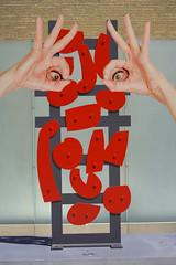 Modern Art (swong95765) Tags: art hands ok sculpture shapes form beauty unusual visual metallic