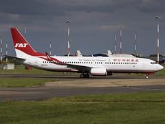 Far Eastern Air Transport   Boeing 737-8SH(WL)   N373AL (FlyingAnts) Tags: far eastern air transport boeing 7378shwl n373al fareasternairtransport boeing7378shwl fat airlivery norwich nwi egsh b28066