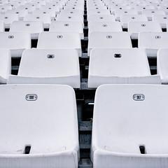Cadreghe (albi_tai) Tags: adminchiam pattern texture noia 2016 monza autodromo pista auto tribunadeserta nessuno sedile sedia cadrega albitai nikon nikond750 d750