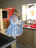 CIMG6805 (sissybarbie1066) Tags: baby satin sissy maid uniform blue drying up