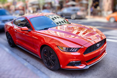 dashing (alouest225) Tags: unitedstates usa etatsunis ocean pacific nikon d750 pacifique sandiego california hdr dof ford mustang red littlecar city inexplore alouest225 nikon28300