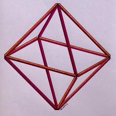 20160629 (regolo54) Tags: regolo54 geometry symmetry polyhedra solid handmade mathart escher structure platonic