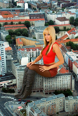 gtsr20 (vogelfd1) Tags: giantess blonde boots pantyhose