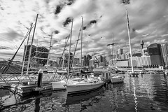 DSC01250 (Damir Govorcin Photography) Tags: clouds sky boats darling harbour sydney zeiss 1635mm sony a7ii city