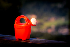 Orange watering pot (anuwish) Tags: orange red wateringpot