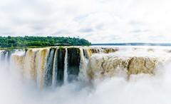 Misty (Rice Bear) Tags: argentina iguazu falls river water misty cataratasdeliguazu pano panorama