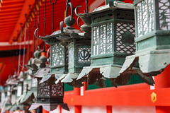 Ornate lanterns at Kasuga Grand Shrine (basair) Tags: purple nara honshu japan naraprefecture naracity kasugataishashrine famousplace surfacelevel shrine templebuilding gate japaneseculture metal ornate lantern hanging shinto religion red builtstructure inarow cultures architecture outdoors taisha asia old ancient colorimage buddhism history multicolored unescoworldheritagesite entrance nonurbanscene thepast traveldestinations colors tranquilscene spirituality