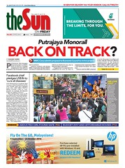 Putrajaya Monorail back on track? (shahrim tamrin) Tags: putrajaya monorail spad publictransport cyberjaya monorel mmc corp
