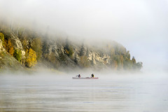 cdn.peaceriver.092116_OMM6442 (ommphoto) Tags: 2016 ab alberta atmospheric autumn canoe cloud etheral expedition fall mightypeace mist nature peace peaceriver trip cdn canada ca