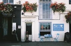 Pier 1 - Deal, Kent (jcbkk1956) Tags: 45mmf28 rokkor deal kent bar street minolta a5 rangefinder film 35mm agfa200 analog coffeeshop minoltaa5 worldtrekker