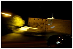 di passaggio 2 (alventura) Tags: mosso auto notte meldola italia movimento moved motion italy color car night light