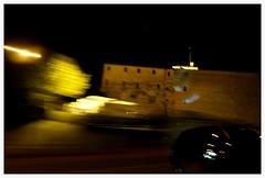 di passaggio 2 (alventura) Tags: mosso auto notte meldola italia movimento moved motion italy color car night light