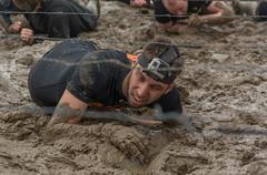 Men in Black 2 (stevefge) Tags: people netherlands sport nijmegen mud nederland viking modder berendonck strongviking