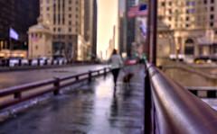 The walkers (Saint-Exupery (ALMOST OFF UNTIL MONDAY)) Tags: city urban usa chicago nikon bokeh candid ciudad urbana robado