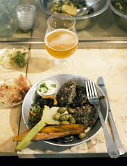 _MG_6342 (Anders Hviid) Tags: street food kitchen dish market tel aviv kebab karmel