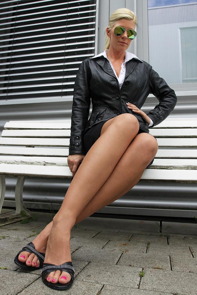 Sexy Secretary Feet