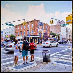 Williamsburg (GDVisuals) Tags: usa newyork film brooklyn america fuji streetphotography velvia williamsburg rvp100 rollei6003pro