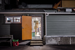 Open Late, Wellington, New Zealand (TV DiSKO) Tags: door light newzealand caf night restaurant cafe wellington fidels