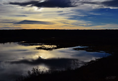 the night comes in blue tones (~ Mariana ~) Tags: nikon sunset landscape sky calgary alberta canada chinookwind clouds marculescueugendreamsoflightportal friends travelsofhomerodyssey mariana ~mariana~