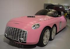 Pink Penny (dhcomet) Tags: pink cars car transport limo motors thunderbirds limousine warwickshire ladypenelope gaydon 6wheeler heritagemotormuseum sixwheeler