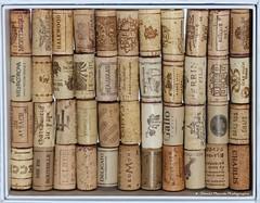 Bons souvenirs / Good memories (deplour) Tags: wine bottles cork caps vin then now bu boire goodmemories bouteilles bouchons liges bonssouvenirs