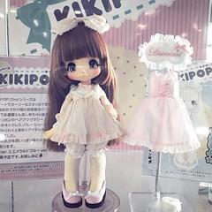 New KIKIPOP 😘 #Kikipop #Azone #doll #dollshow43 #display (cute-little-dolls) Tags: square doll squareformat ludwig azone kikipop iphoneography instagramapp uploaded:by=instagram dollshow43