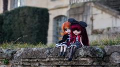 Entre amies ~ (MintyP.) Tags: 6 photography doll sony wig groove pullip 58mm helios poupée merl nex maritxu seila obitsu mintypullip elwyna